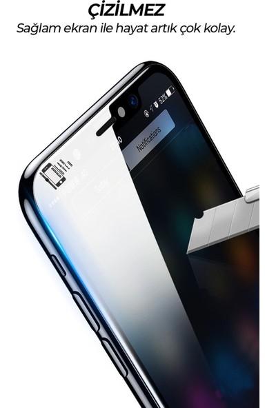 Dear Cover Huawei P40 Lite E Temperli Ekran Koruyucu Cam Şeffaf