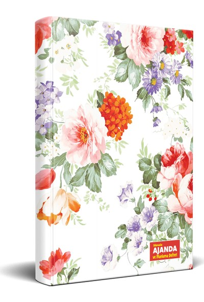 Halk Kitabevi Beyaz Düş Süresiz Ajanda ve Planlama Defteri 13.5 x 19.5 cm