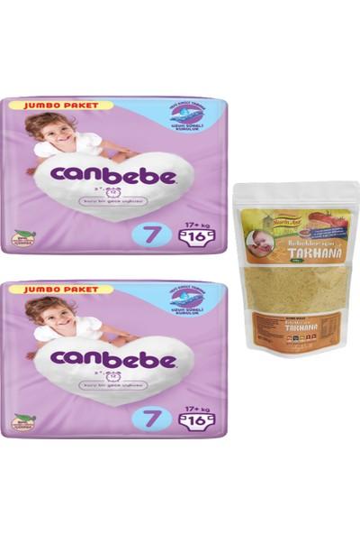 Canbebe 2'li Canbebe Jumbo Paket 7 Numara ve Nesrin Ana Bebek Tarhana (500GR)