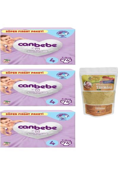 Canbebe 3'lü Canbebe Süper Fırsat Paketi 4 Numara ve Nesrin Ana Bebek Tarhana (500GR)