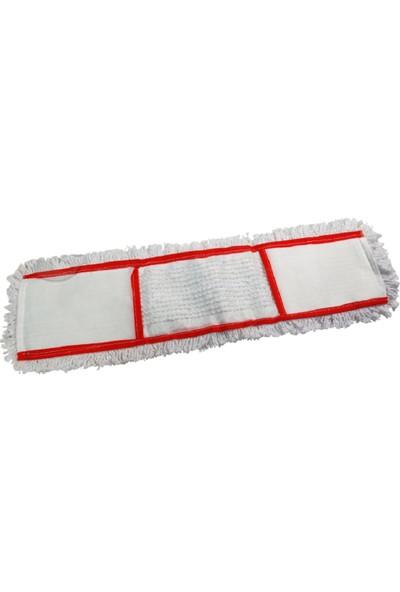Secco Universal Nemli Mop 60 cm Kırmızı Şeritli 10'lu Paket