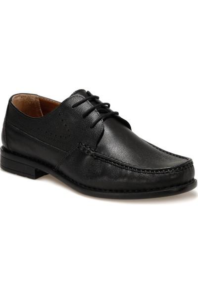 Polaris 5 Nokta 108826.M1FX Siyah Erkek Klasik Ayakkabı