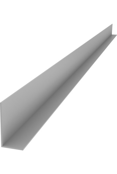Ersaş Alüminyum '' L '' 20 x 40 mm Köşebent Profili Er 1747 Mat Eloksal 2 Metre x 3 Adet
