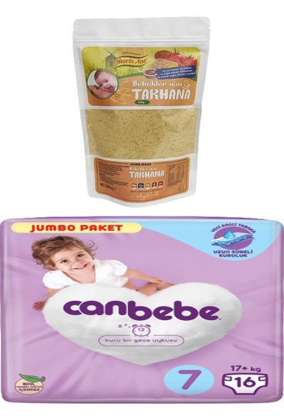 Canbebe Jumbo Paketi 7 Numara ve Nesrin Ana Bebek Tarhana (500GR)