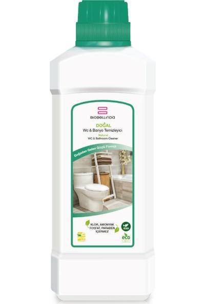 BioBellinda Wc & Banyo Temizleyici 1000 ml + Klor, Amonyak, Fosfat Içermeyen Formül