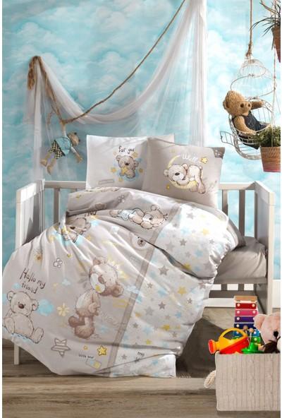 Bebek Nevresim Takımı Little Bear / Bej
