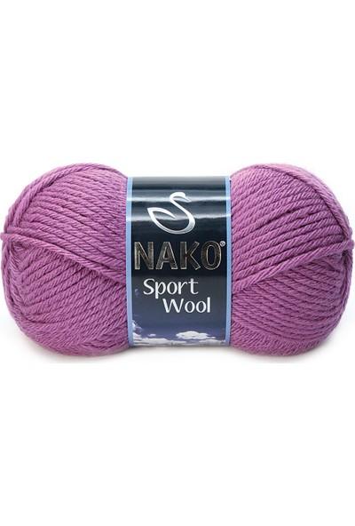 Nako Sport Wool 1048 Kuru Gül