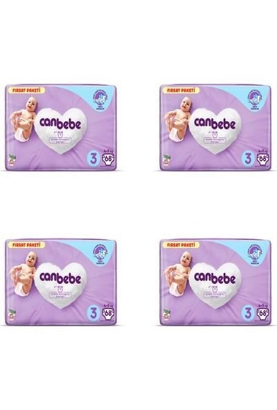 Canbebe 4'lü Canbebe Fırsat Paketi 3 Numara