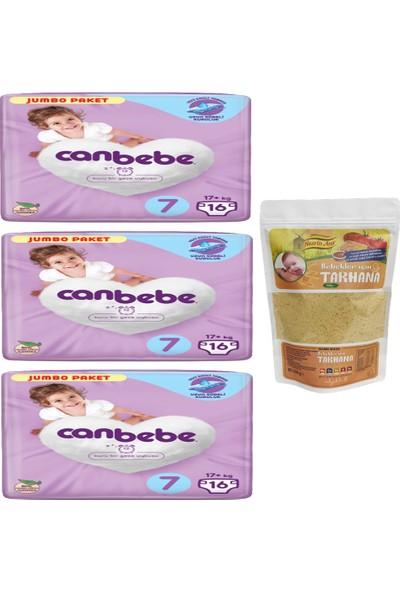 Canbebe 3'lü Canbebe Jumbo Paket 7 Numara ve Nesrin Ana Bebek Tarhana (500GR)