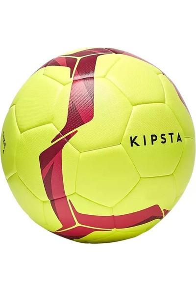 Kipsta Hibrit Futbol Topu 5 Numara Neon Sarı