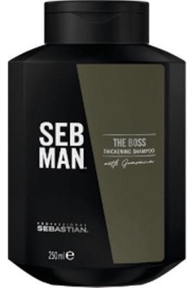 Sebastian Seb Man The Boss Hair Thickening Shampoo 250 ml