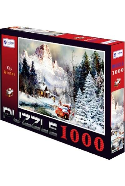 Adam Games Kış 1000 Parça Puzzle ( 48X68 )