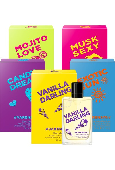 Varens Flirt Koleksiyon Seti (5x30ML) Kadın Parfüm