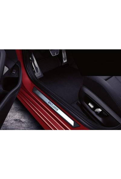 KromGaraj Opel Combo C Krom Kapı Eşik Koruması Exclusive 2001-2011 2 Parça