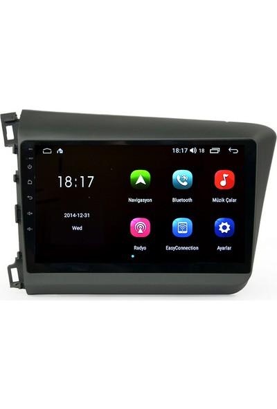 Navigasyonmarket Honda Civic Fb7 Android Multimedya Navigasyon Oto Teyp