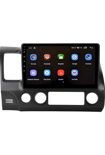 Navigasyonmarket Honda Civic Fd6 Android Multimedya Navigasyon Oto Teyp