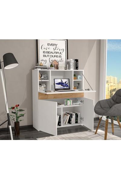 Çekirdek Home Fancy Çalışma Masası Safir Meşe