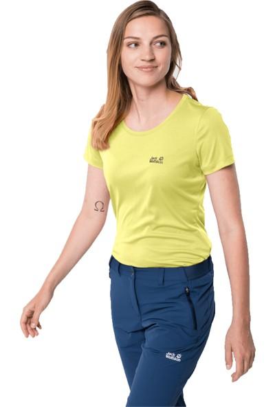 Jack Wolfskin Tech T Kadın T-Shirt XS