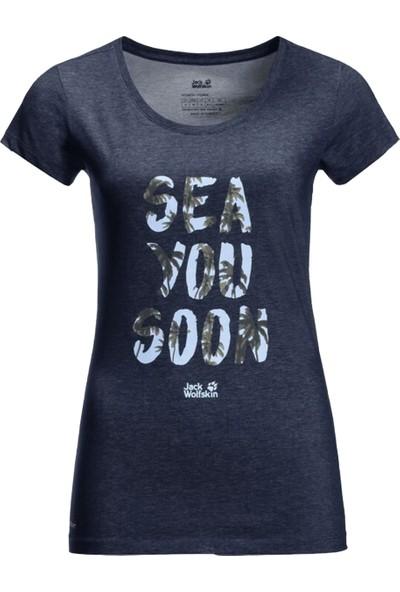 Jack Wolfskin Sea You Soon T W Kadın T-Shirt S