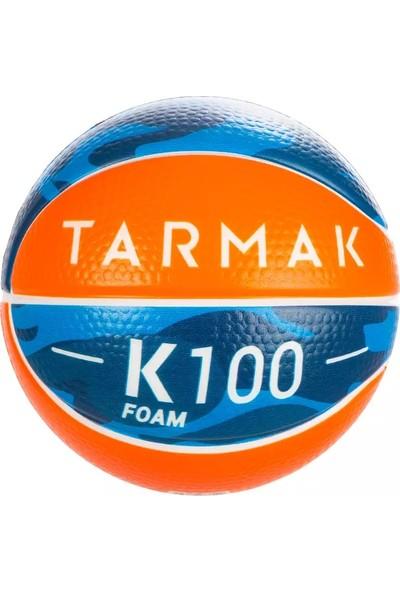 Tarmak Mini Basketbol Topu - 1 Numara - Turuncu / Mavi - Sünger