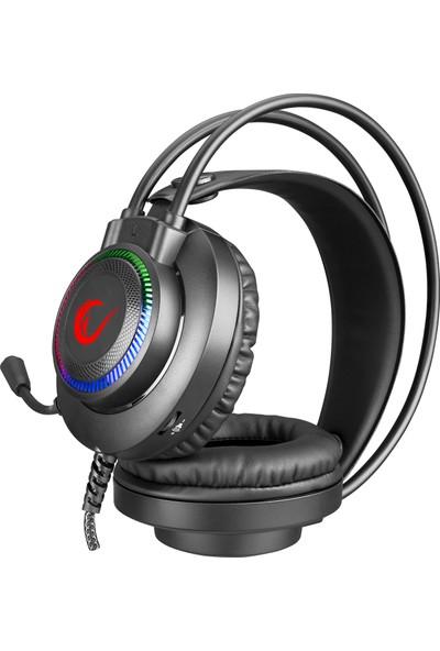 Rampage RM-K27 X-Jammer RGB Mikrofonlu Kulaklık