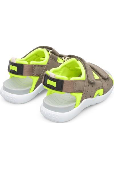 Camper K800360-001 Gri Çocuk Sandalet