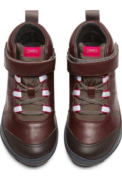 Camper K900196-004 Bordo Çocuk Ayakkabı