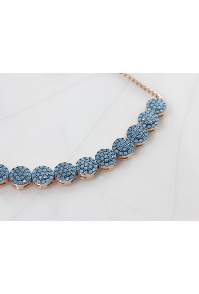 Rare Jewels Asansörlü Ayarlanabilir Gümüş Bileklik