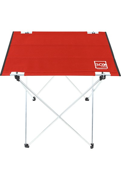Box&Box Omuz Askılı, Katlanabilir Kamp ve Piknik Masası 57x43x60 cm