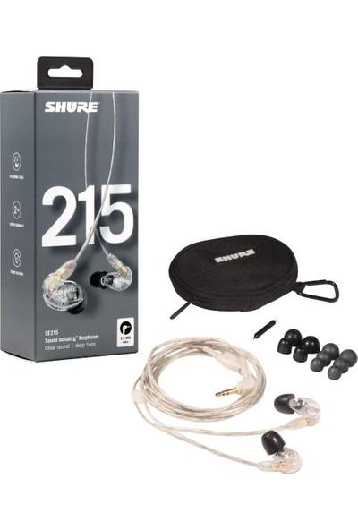 Shure SE215 Profesyonel Ses Yalıtımlı Kulak Içi Kulaklık- Şeffaf