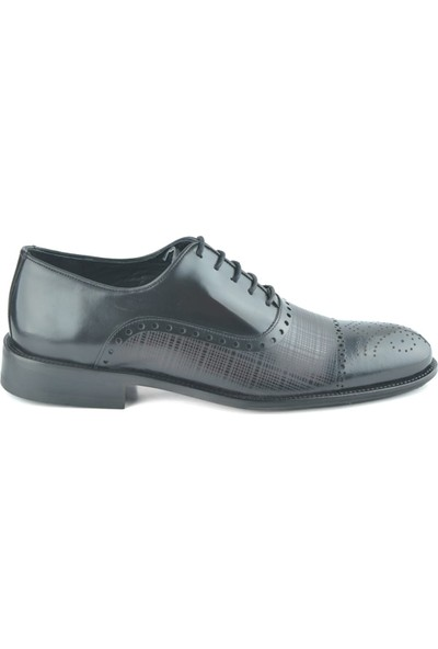 Igs Erkek Deri Klasik Ayakkabı İ17523-20 M 1000 Siyah-Açma
