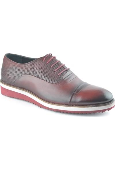 Igs Erkek Deri Günlük Ayakkabı İ1711459-3 M 1000 Bordo