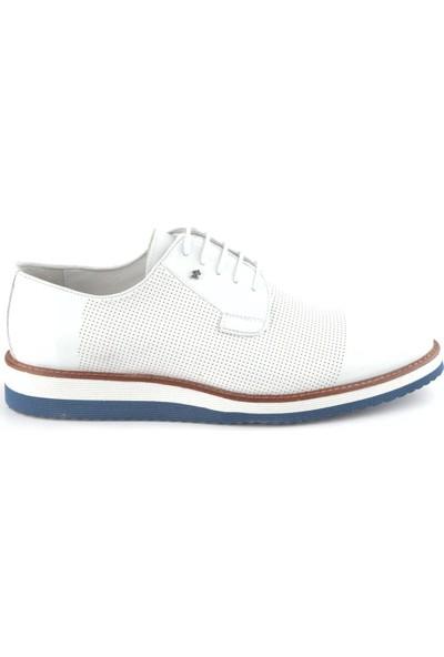 Igs Erkek Deri Günlük Ayakkabı İ20S-459-1 M 1000 Beyaz