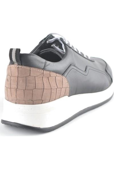 Igs Erkek Deri Günlük Ayakkabı İ191437-1 M 1000 Siyah