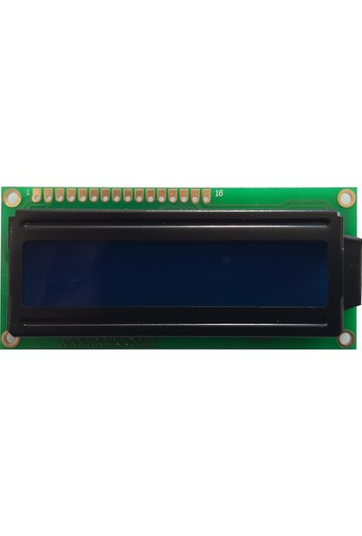 Thinsharp TC1602A-09T 2X16 Karakter Mavi LCD Ekran