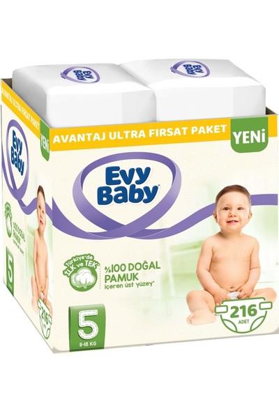 Evy Baby Bebek Bezi Beden: 5 (11 - 18 Kg) Junior 216'LI