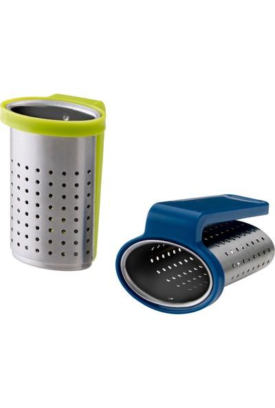 IKEA Sakkunnıg Çay Süzgeci Açık Yeşil-Mavi 2'li