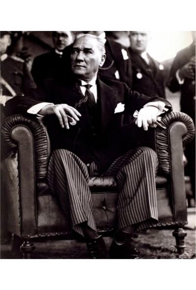 Decobrıtısh Atatürk 1 Kanvas Tablo 35X50 Cm-2