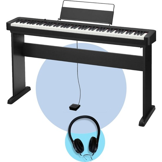 Casio CDP-S100 Dijital Piyano (Stand + Kulaklık Seti)