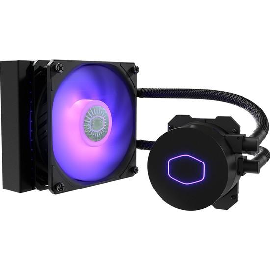 Cooler Master MasterLiquid ML120L V2 SickleFlow RGB Led Fanlı İşlemci Sıvı Soğutma Kiti (İntel, AM4 destekli) (MLW-D12M-A18PC-R2)