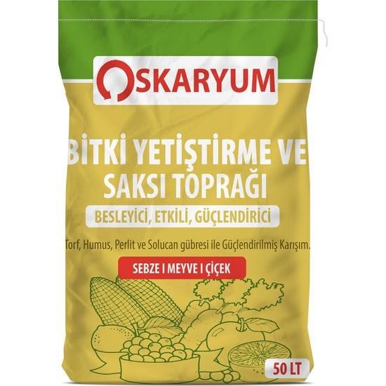 Oskaryum Bitki Yetiştirme ve Saksı Toprağı 50 Lt