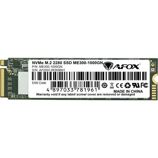 Afox MS200-1000GN SSD 1000GB M.2 2280 Sata3 560-500MB/S 3D Tlc