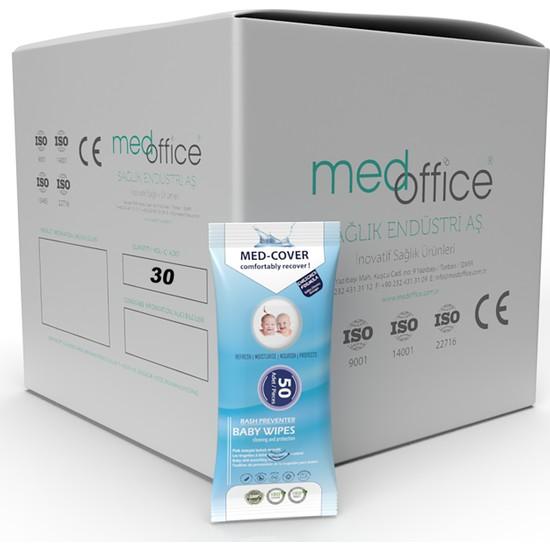 Med Cover Pişik Önleyicili Bebek Temizleme Mendili 50 'li - 30 Adet