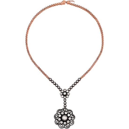 Clavis Jewelry Elmas ve Pırlanta Taşlı Kolye