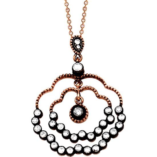 Clavis Jewelry Elmas Taşlı Kolye