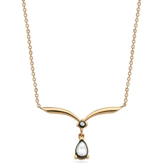 Clavis Jewelry Pırlanta ve Elmas Taşlı Kolye
