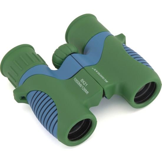 Bushman Junior 8X21 Yeşil Mavi Dürbün