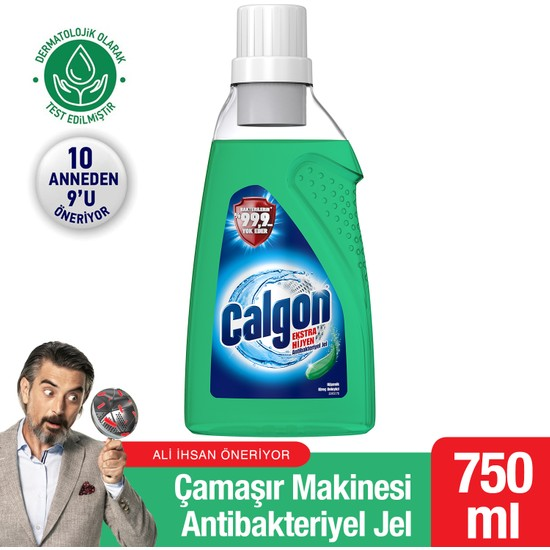 Calgon Ekstra Hijyen Çamaşır Makinesi Antibakteriyel Jel 750 ml
