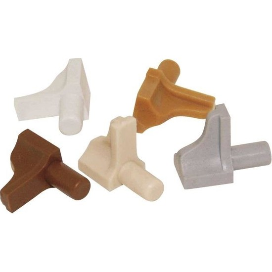 Gürcay Plastik L Raf Pimi 5mm 25 Adet Beyaz