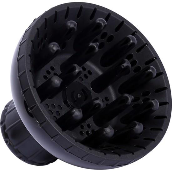 Vigo + Profesyonel Kuaför Fönlerine Uygun Başlık (Difüzör / Wigo) - Siyah